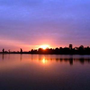 2012 Angkor Wat③ スラ・スランのサンライズ、バンテアイ・クディ&タ・プローム遺跡、オールドマーケット散策