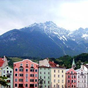 2006中欧魅力の街巡り【インスブルック①】生誕250周年を祝うモーツァルト・イヤーの2006年、中欧4都市周遊旅のスタートです