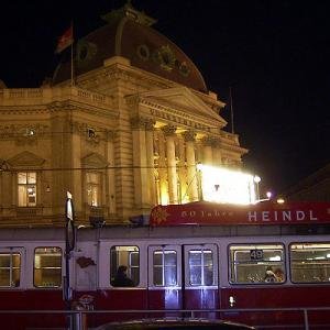 2004冬の中欧・オペラとビール三昧① オーストリア航空直行便でウィーンへ、旅の初日はリンク・シュトラーセ一周から
