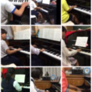 小中学生伴奏や敬老会