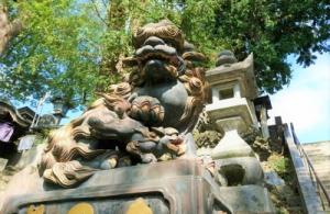成田山新勝寺の仁王様からのメッセージ・3