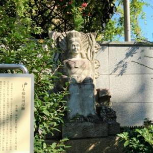 日本橋・乙姫広場にて