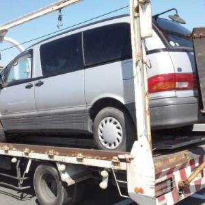 太田市から他府県ナンバーの車検切れ故障車を廃車の引き取りしました。