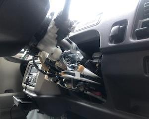 あきる野市から放置車両をレッカー車で廃車の引取しました。