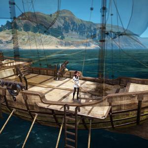 古いバルタリ帆船をもらってみた