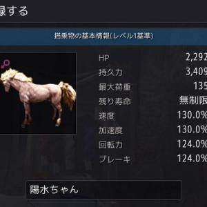 ひさしぶりの8世代馬誕生