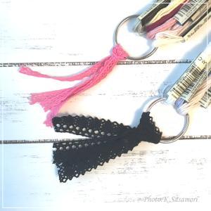 使いかけの刺しゅう糸をまとめたい!