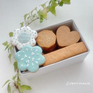 【クッキー缶レッスンレポ】色んな味のクッキーをお持ち帰り出来て楽しい!