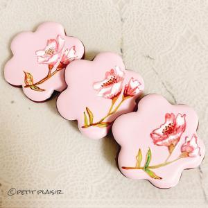 【アイシングクッキーのご紹介】春のフラワーペイントクッキー♪