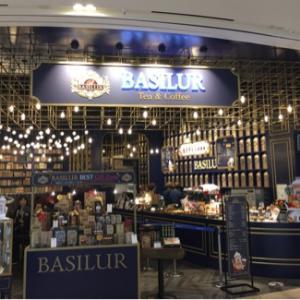 スリランカ発の紅茶専門カフェ♪@BASILUR TEA