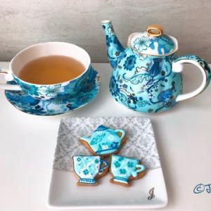 アイシングクッキー作り♪〜ティーカップ〜