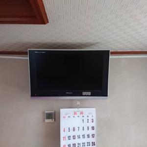 テレビも壁掛けで 楽しめます