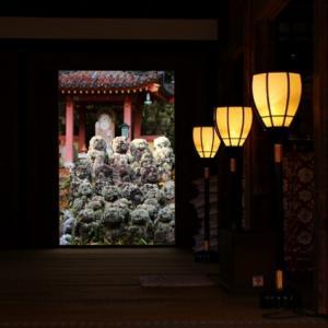 愛宕念仏寺から愛宕街道下る