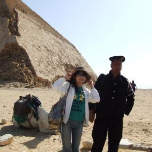 ⑩エジプト旅行記~砂漠で出会ったポリスマンとのまさかのやり取り?~