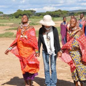 ケニア一人旅④♥会いたかったマサイ族にご対面してきました!