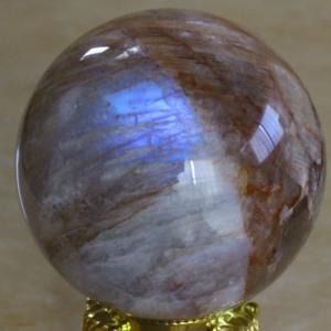 【新着】極上宝石質!ロシア産レインボーベロモライト・ムーンストーン丸玉が入荷しました。
