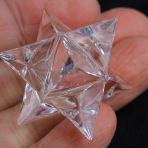 【新着ラスト1個・次回入荷未定】極上!超透明ガネーシュヒマール水晶マカバ4