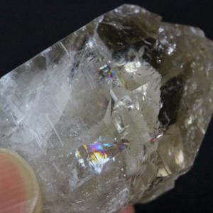【新着】キラキラレインボー!高波動ロシアウラル産水晶