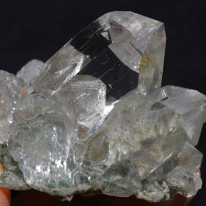 【サイキックリーディング】極上超透明!インドマニハール産ヒマラヤ水晶クラスター