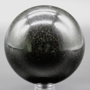 【新着】高品質!ブラックトルマリン61mm丸玉