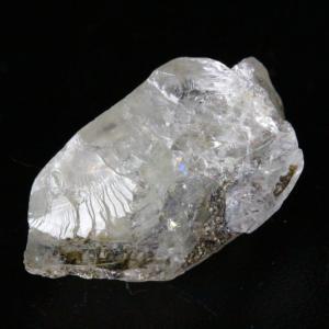 【新着】ガラス光沢!超高波動ロシア産フェナカイト原石4.4g