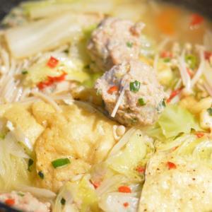 肉団子麻婆豆腐