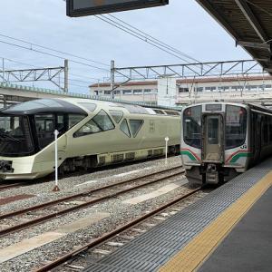 『深遊探訪』TRAIN SUITE  四季島の旅♪ 会津若松駅〜上野駅 完結編
