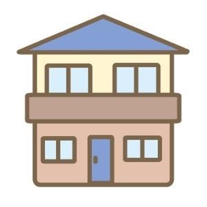 家作りの備忘録 その10 ※棟上げと階段下トイレ