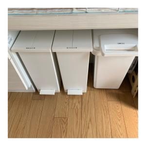 家作りの備忘録 その23 ※カップボードにジャストサイズのゴミ箱