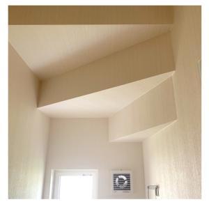 家作りの備忘録 その25 ※階段下トイレの天井