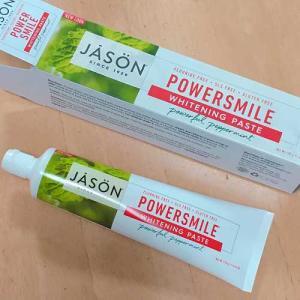 Jason Naturalの歯磨き粉がすごい。