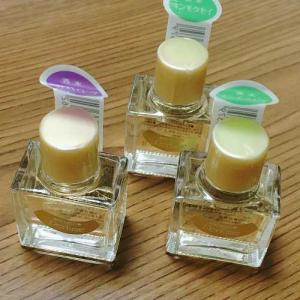 キンモクセイとヘリオトロープの香水。