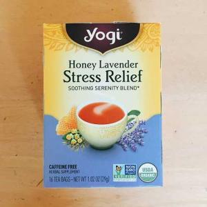 ストレスを和らげてくれるお茶 Yogi Tea。