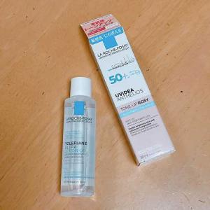 ラロッシュポゼの化粧水セット。