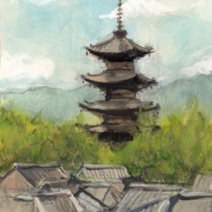 八坂の塔 10月  F4