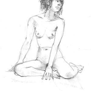 座る・立つ・寝る  ポージングが上手いモデルさん! やはり、彼女の 才能だと思う