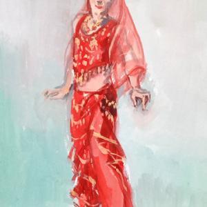 ガッシュ アラブの踊り子のコスチューム F8