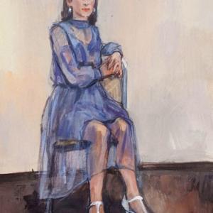 「シースルーのドレスのひと」 F8 目の前のものに 囚われる