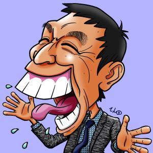 明石家さんまさんは本当に出っ歯なのか。