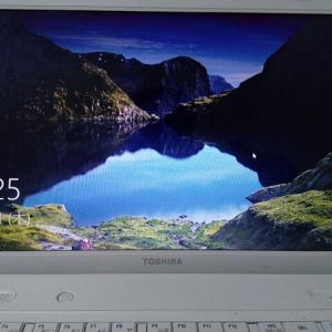 windows10最初のブログです。