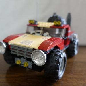なんでもLEGOの車をモンスター化