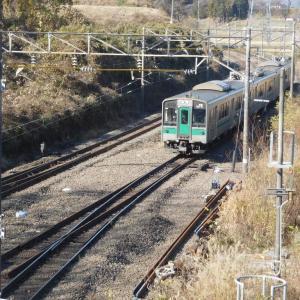 東北本線 日和田駅~2018年8月に棒線化されたよう