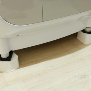 洗濯機のかさ上げ台はふんばるマン&防振ゴムニューしずかセットが最強!