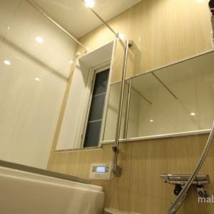 一条工務店のお風呂を寒くなく掃除しやすくする間取りと窓の選択