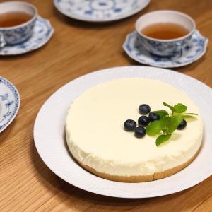 カンパンリメイク 〜 レアチーズケーキを作りました