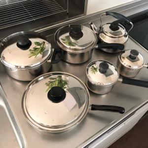 ステンレス鍋をナチュラルクリーニング
