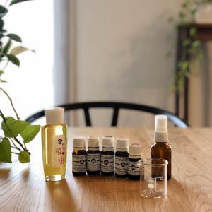 ヘアケア〜 椿油に精油をブレンド