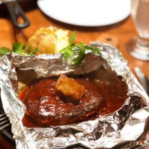 『百年洋食ハンバーグステーキ』 〜 「キャピタル東洋亭」にて