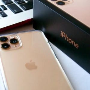 スマホデビュー iPhone 11 Pro