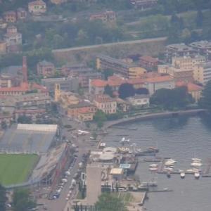 イタリア・コモ湖 人